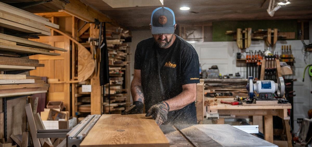 editorial marketing photography minnesota woodshop