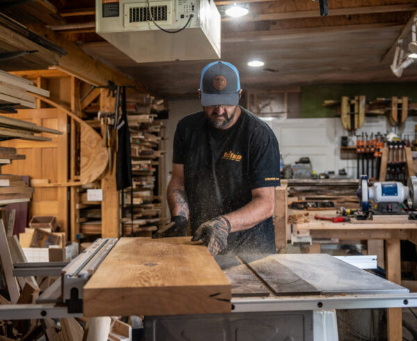 editorial marketing photography minnesota woodshop